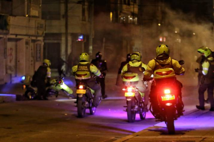 Disturbios y Suspensión de Transmilenio