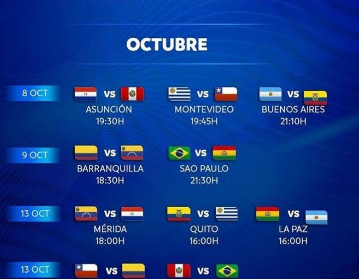 Inician las Eliminatorias Sudamericana de Futbol Qatar 2022