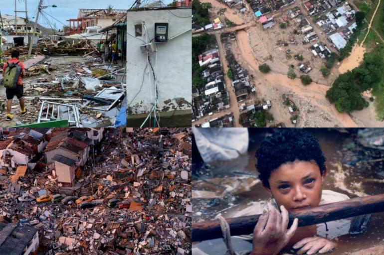 Iota y los peores desastres naturales en la historia de Colombia