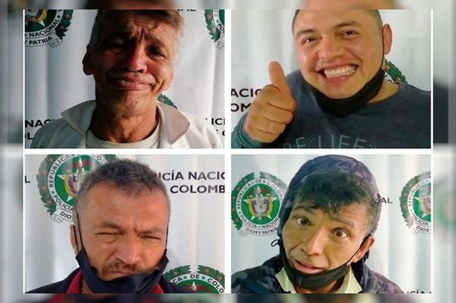 Ladrones que planeaban robar apartamentos en Bogotá se burlaron tras ser capturados