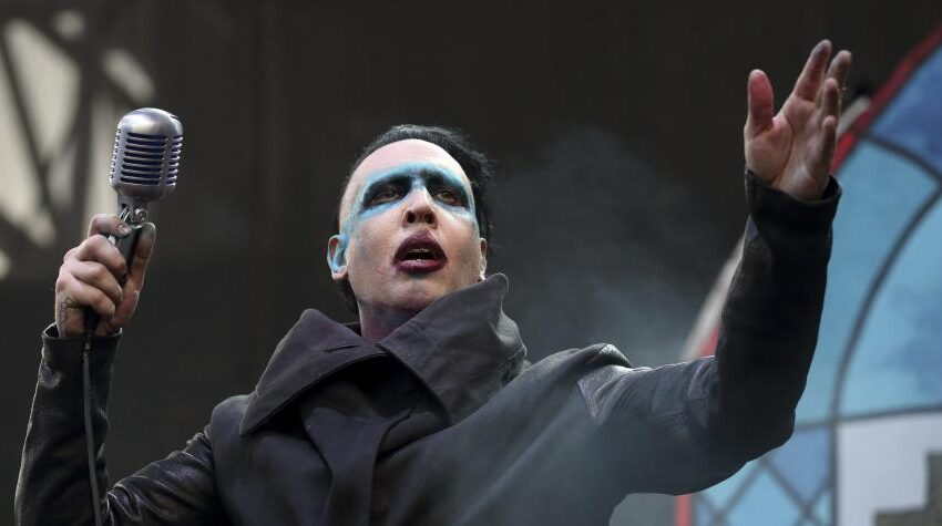 Marilyn Manson acusado de abuso por Evan Rachel Wood